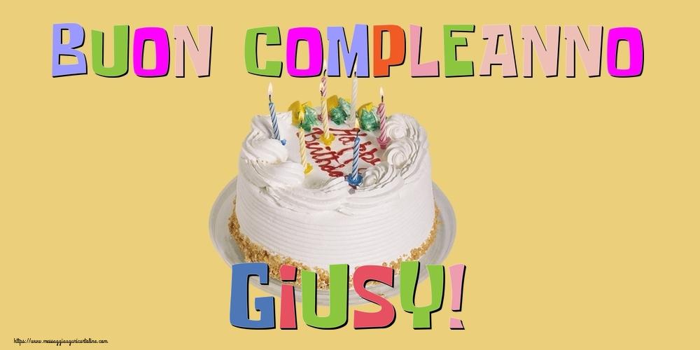 Cartoline di compleanno | Buon Compleanno Giusy!