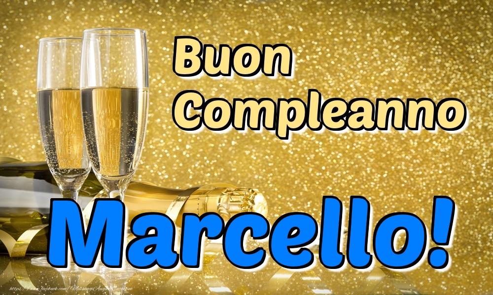 Cartoline di compleanno   Buon Compleanno Marcello!