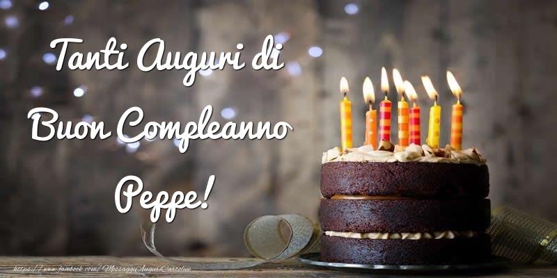 Cartoline di compleanno | Tanti Auguri di Buon Compleanno Peppe!