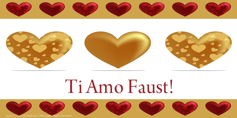 Cartoline d'amore   Ti Amo Faust!