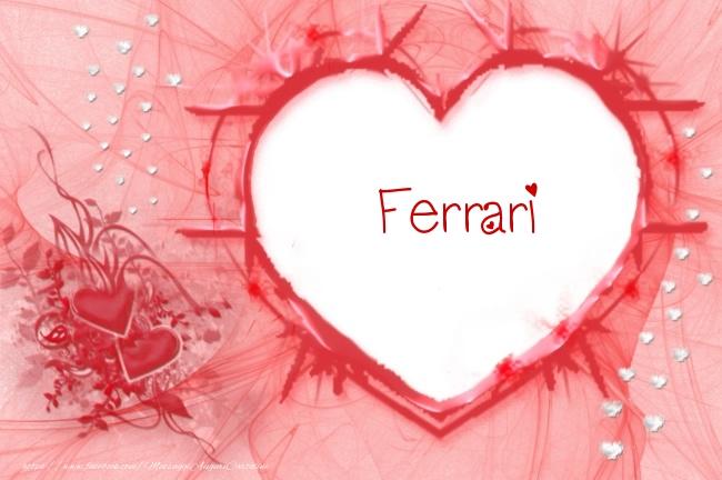 Cartoline d'amore   Love Ferrari!