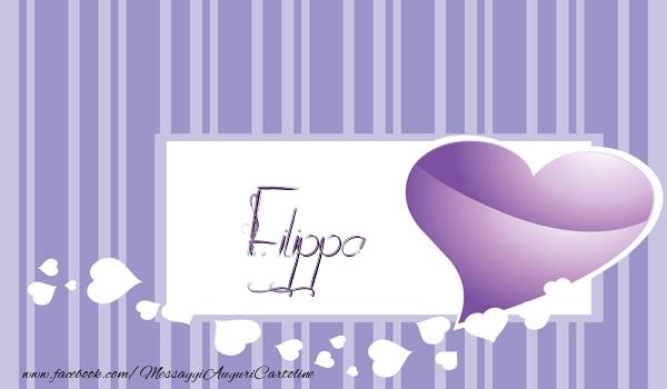 Cartoline d'amore | Love Filippa