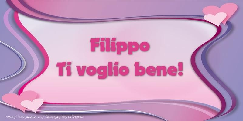 Cartoline d'amore | Filippo Ti voglio bene!
