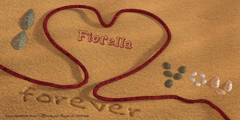 Cartoline d'amore | Fiorella I love you, forever!