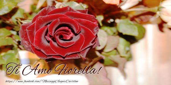 Cartoline d'amore | Ti amo Fiorella!