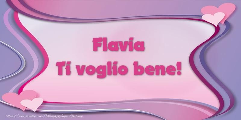 Cartoline d'amore | Flavia Ti voglio bene!