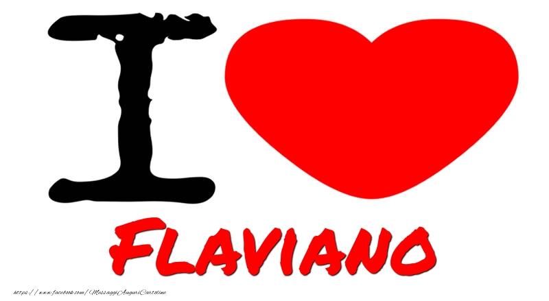 Cartoline d'amore   I Love Flaviano