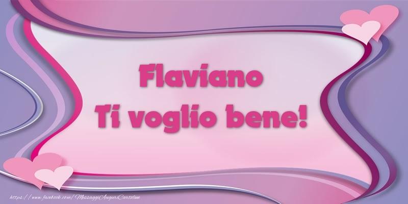 Cartoline d'amore | Flaviano Ti voglio bene!