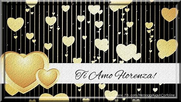 Cartoline d'amore | Ti amo Florenza!