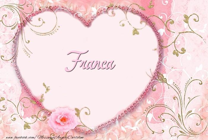 Cartoline d'amore | Franca