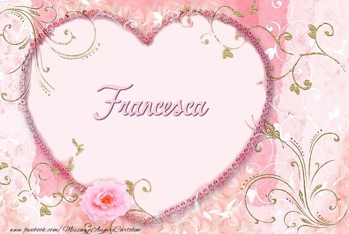 Cartoline d'amore   Francesca