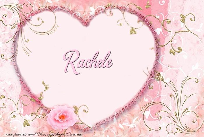 Cartoline d'amore | Rachele
