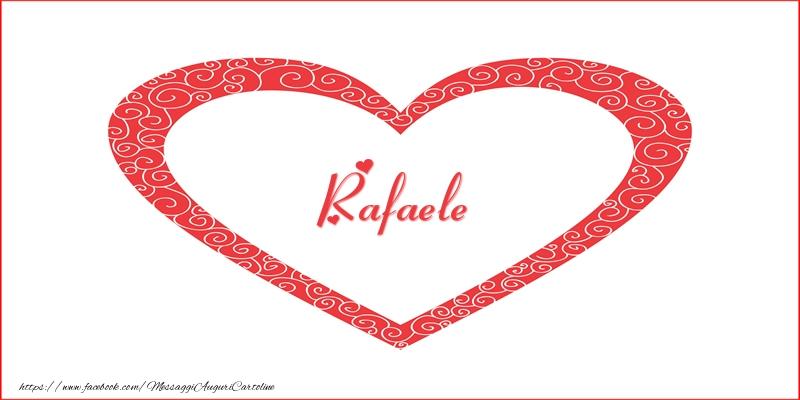 Cartoline d'amore | Rafaele | Nome nel Cuore