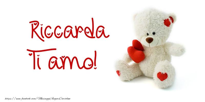 Cartoline d'amore | Riccarda Ti amo!