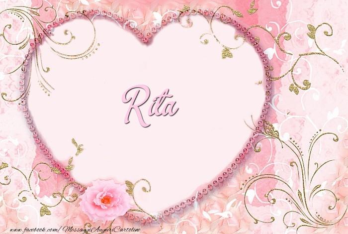 Cartoline d'amore | Rita