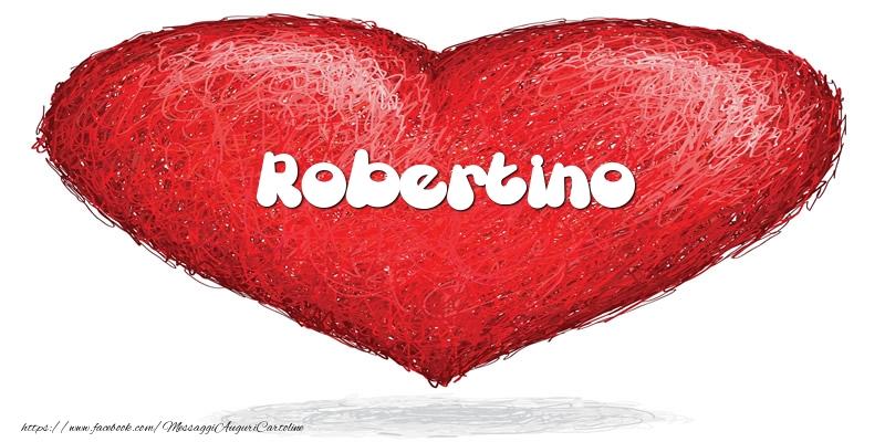 Cartoline d'amore   Robertino nel cuore