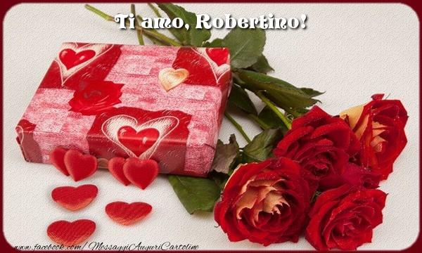 Cartoline d'amore   Ti amo, Robertino!