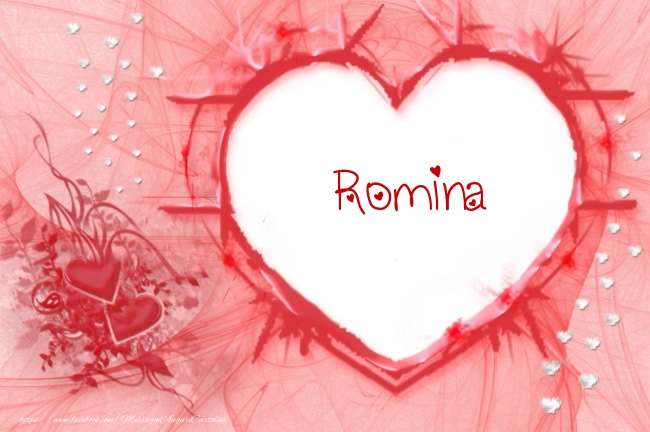 Cartoline d'amore   Love Romina!