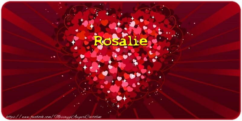 Cartoline d'amore | Rosalie