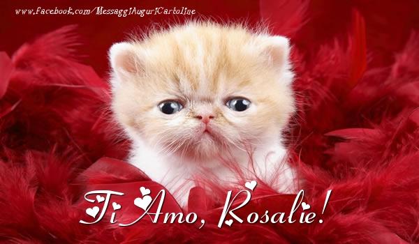 Cartoline d'amore | Ti amo, Rosalie!