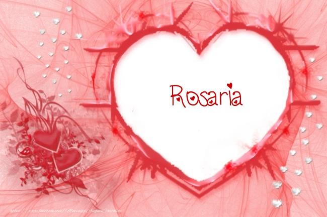 Cartoline d'amore   Love Rosaria!
