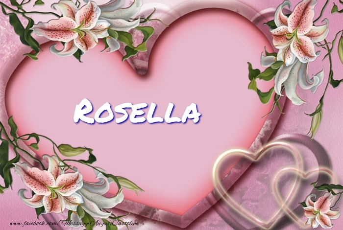 Cartoline d'amore   Rosella