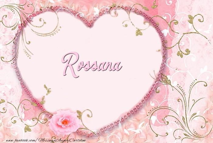 Cartoline d'amore | Rossana