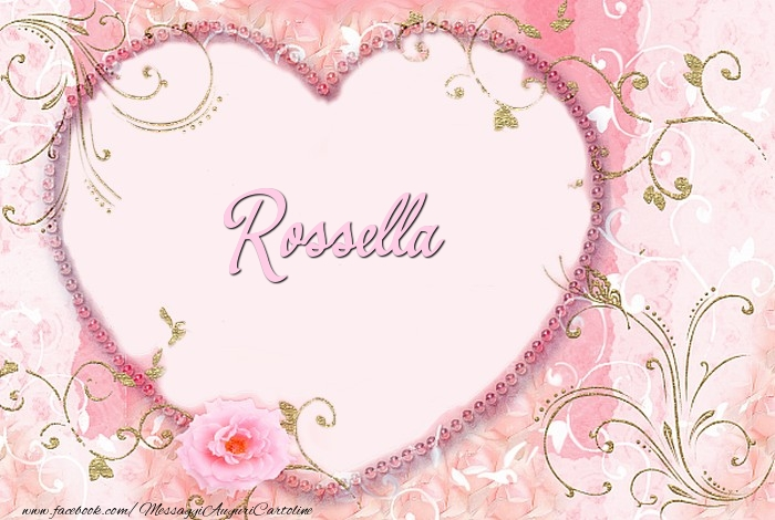 Cartoline d'amore   Rossella