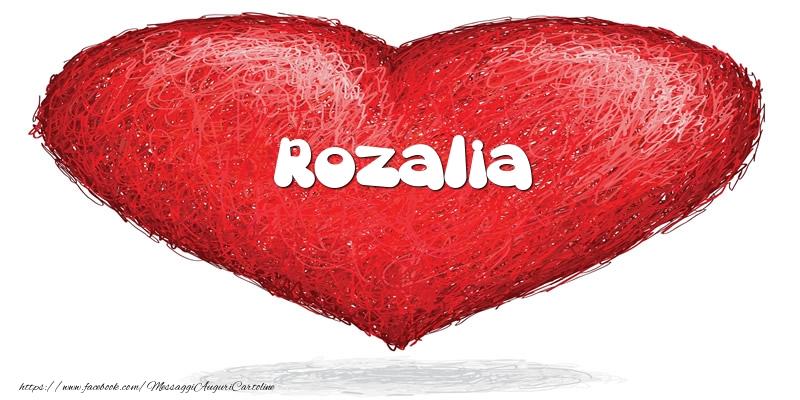 Cartoline d'amore | Rozalia nel cuore