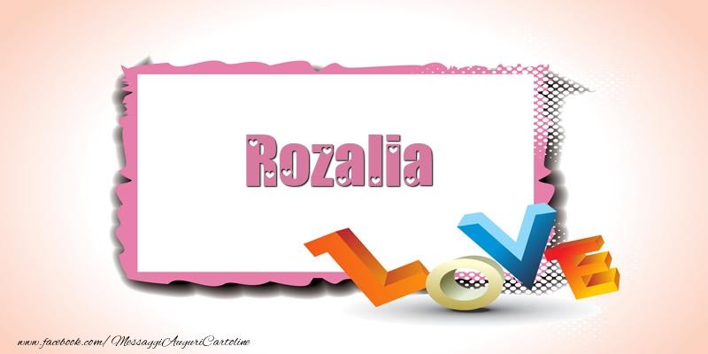 Cartoline d'amore | Rozalia Love