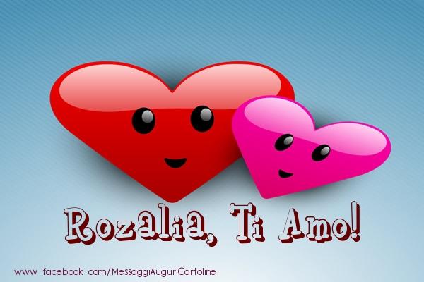 Cartoline d'amore | Rozalia, ti amo!