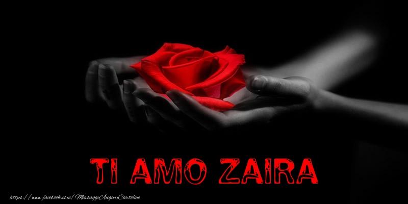 Cartoline d'amore | Ti Amo Zaira