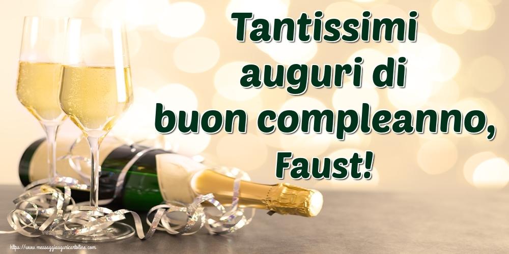 Cartoline di auguri   Tantissimi auguri di buon compleanno, Faust!