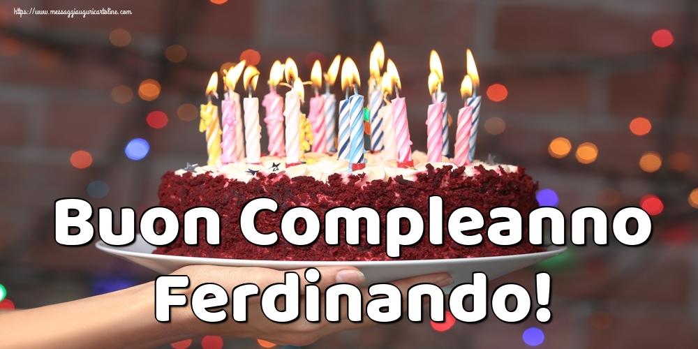 Cartoline di auguri | Buon Compleanno Ferdinando!