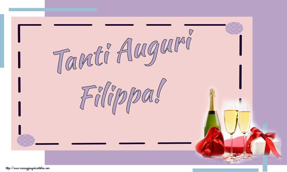 Cartoline di auguri | Tanti Auguri Filippa!