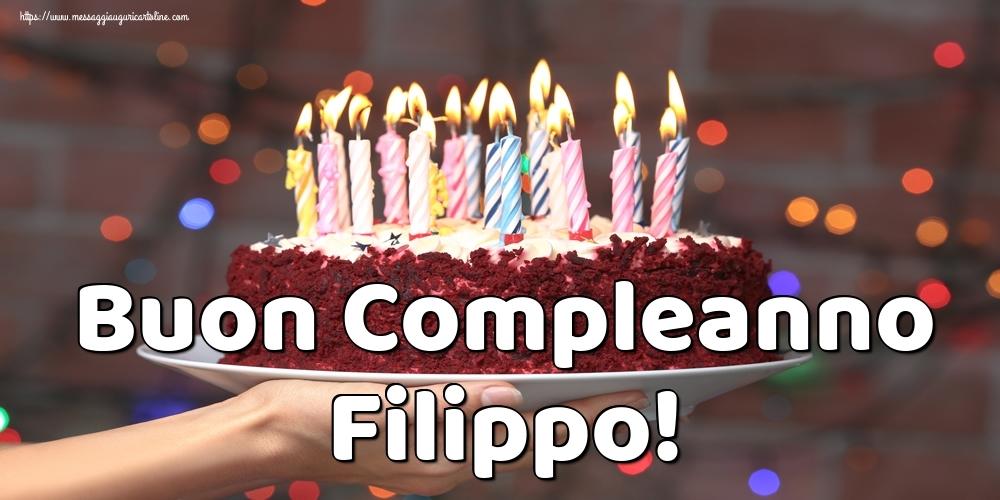 Cartoline di auguri | Buon Compleanno Filippo!