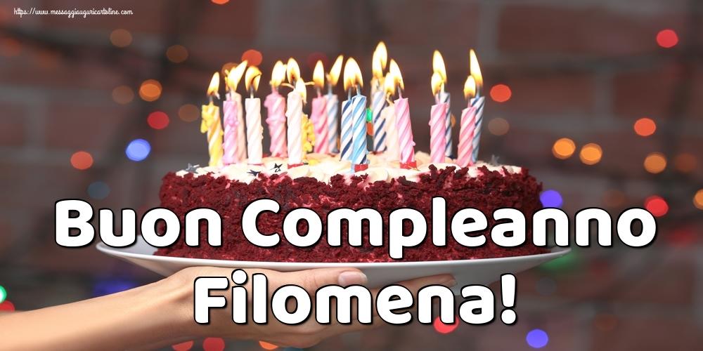 Cartoline di auguri | Buon Compleanno Filomena!