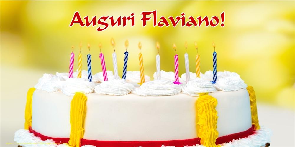 Cartoline di auguri   Auguri Flaviano!
