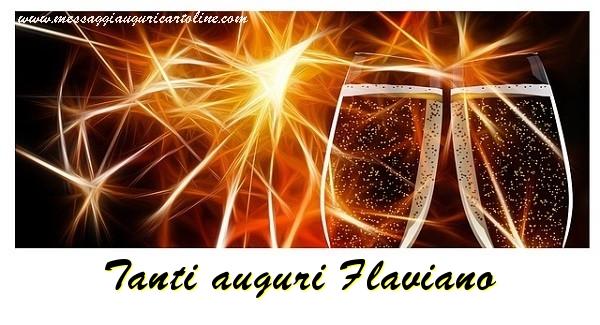 Cartoline di auguri | Tanti auguri Flaviano