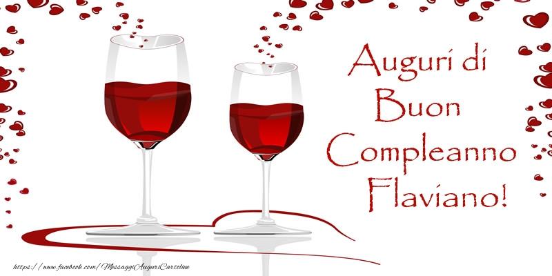 Cartoline di auguri | Auguri di Buon Compleanno Flaviano!