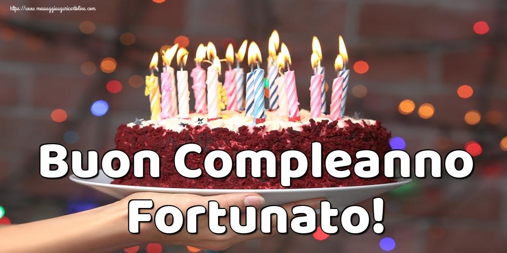 Cartoline di auguri | Buon Compleanno Fortunato!
