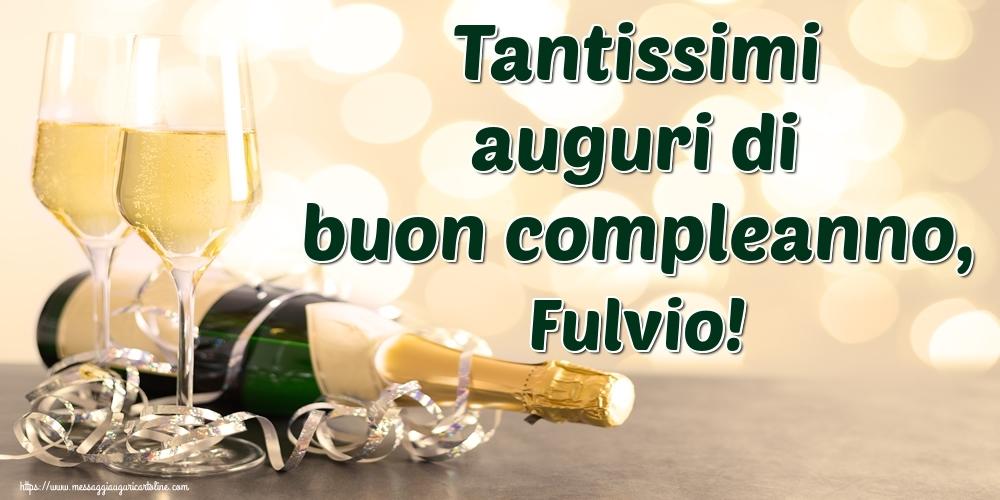 Cartoline di auguri | Tantissimi auguri di buon compleanno, Fulvio!