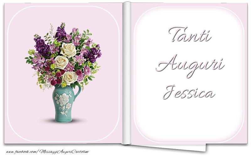 Cartoline di auguri | Tanti Auguri Jessica