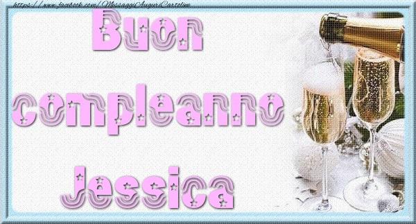 Cartoline di auguri | Buon compleanno Jessica