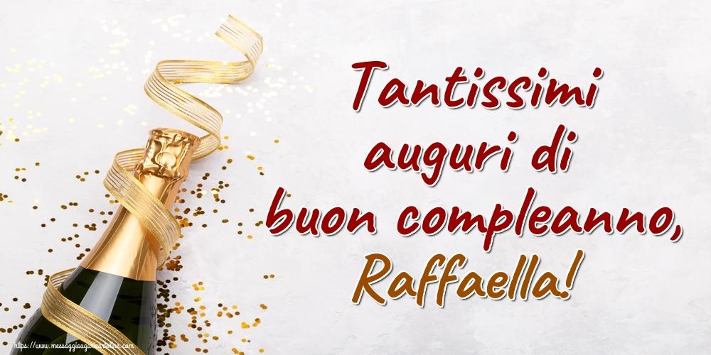 Cartoline di auguri | Tantissimi auguri di buon compleanno, Raffaella!