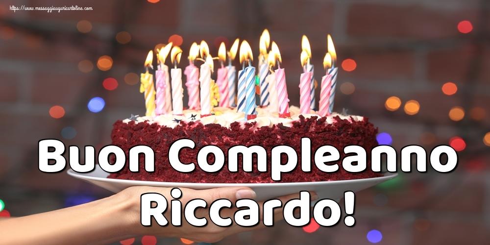 Cartoline di auguri   Buon Compleanno Riccardo!
