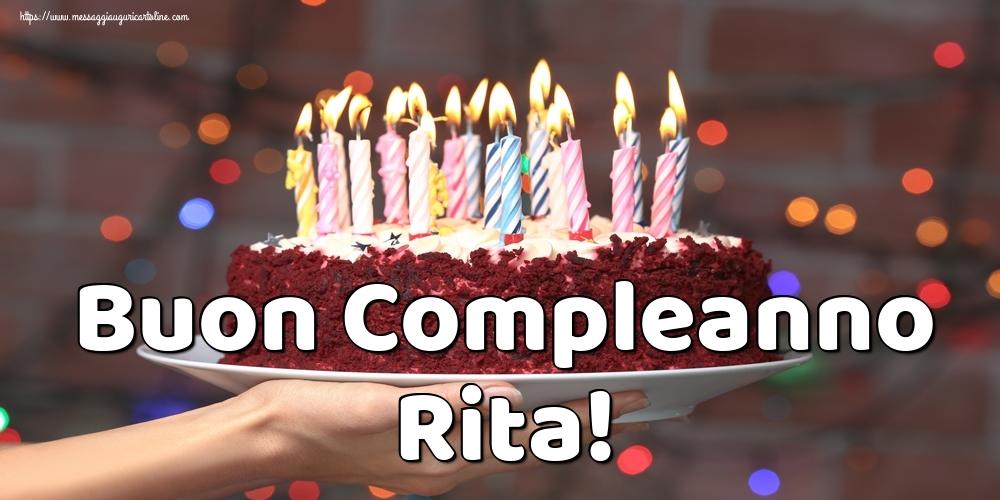 Cartoline di auguri | Buon Compleanno Rita!