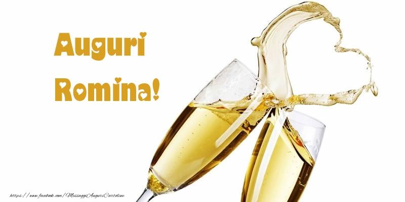 Cartoline di auguri   Auguri Romina!