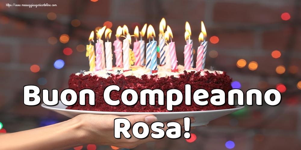 Cartoline di auguri | Buon Compleanno Rosa!