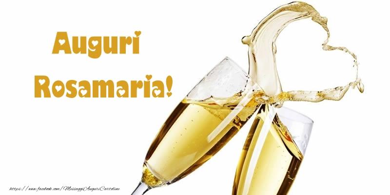 Cartoline di auguri   Auguri Rosamaria!